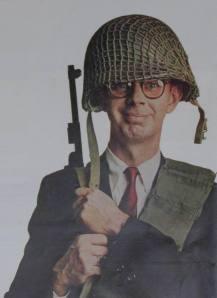 Dorky soldier