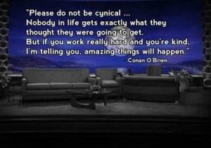 Conan O'Brian quote