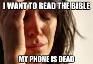 Bible Application Meme